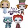 Alice No País Das Maravilhas - 4 Figuras - Pop! Funko