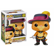 Gato De Botas (puss In Boots) - Funko Pop - Série Shrek Pop!
