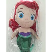 Boneca Pano - Pequena Sereia - Disney