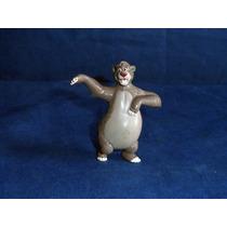 Boneco Miniatura Urso Balu Filme Mogli Disney 7,5cm Altura