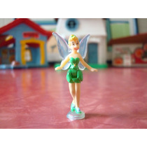 Miniatura #2 Fada Sininho Plástico 4,5 Cm Peter Pan Disney