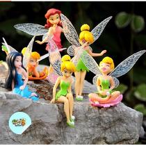 Kit 6 Bonecas - Princesas Tinker Bell Sininho
