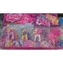Kit My Little Pony Com 4 Bonecos - My Litle Poney Miniatura