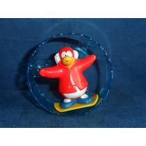 Boneco Club Penguin Usado Disney Movido A Corda Funcionando
