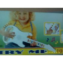 Guitarra Eletrônica Infantil Com Microfone - Fret16