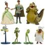 A Princesa Tiane E O Sapo Personagens Disney