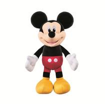 Boneco Mickey Mouse Fisher Price Fala Inglês Assovia 26cm
