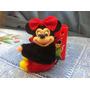 Boneca Agarradinha Da Minie Mouse Disney Coleção N Estrela
