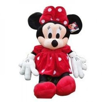Boneca De Pelúcia Minnie Disney 55cm