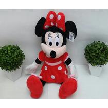 Minnie De Pelucia Vermelha 55 Cm