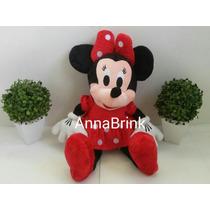 Pelucia Minnie Vermelha 50 Cm