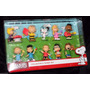 Playset Peanuts Snoopy 10 Bonecos Charlie Linus Lucy Sally