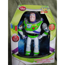 Toy Story 02 Bonecos Falantes Buzz E Woody Disney Store No