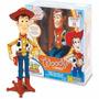 Boneco Woody Toy Story Com Certificado Disney Fala 45 Frases
