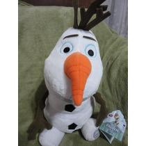 Olaf Frozen Pelúcia 42cm Disney Store Elsa Anna No Br