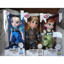 Frozen Elsa Anna E Kristoff 40 Cm Animators Original Disney