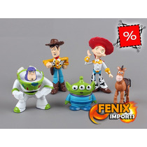 Bonecos Toy Story 5 Bonecos Disney Toy Woody Buzz Lightyear!