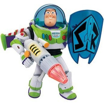 Boneco Buzz Lightyear C/escudo Power Sons Toy Story Toyng