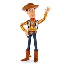 Toy Story: Boneco Falante Xerife Woody 40cm, Disney Store