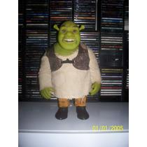Boneco Grande Do Shrek Bandeirante Com Roupa De Pano 40 Cm