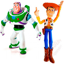 Bonecos Woody Buzz Originais Toy Story Disney - Grow.