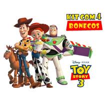 Bonecos Toy Story Woody Buzz Lightyear Jessie Disney