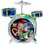 Bateria Acústica Toy Story Woody Buzz Yellow