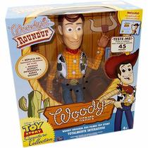 Toy Story - Xerife Woody Roundup - 40 Cm Com Som -toyng
