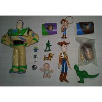 Toy Story Lote2 C/13 Woody Buzz Slinky Rex Bebezão Soldado