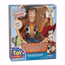Woody Roundup 40 Cm Toy Story - Xerife 45 Frases Português