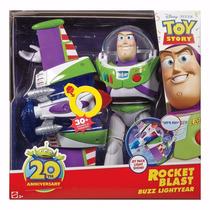 Buzz Lightyear Turbo Jato + 30 Frases Em Português Mattel