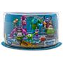 Montros De Luxo Play Set10 Bonecos Perfeitos Original Disney