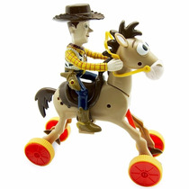 Boneco Woody E Cavalo Bala No Alvo Galopante Toy Story Toyng