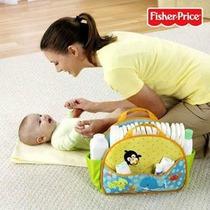 Fisher Price - Porta Fralda +dvd Infantil De Presente .