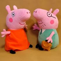 Pappai E Mamãe Da Peppa Pig Pronta Entrega - Grátis Brinde
