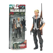 Boneco The Walking Dead - Andrea - Series 4 Mcfarlane Toys