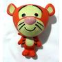 Boneco Tigrão - Turma Do Pooh - Borracha Vinil 23 Cms