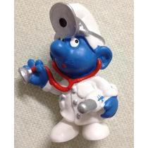### Smurfs - Smurf Médico - Schleich - Miniatura Nova ###