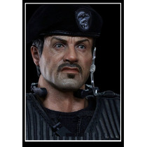 Hot Toys Expendables Barney Ross - Stallone Mercenarios