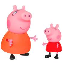 Bonecos Peppa Pig - Mamãe Pig E Peppa - Estrela