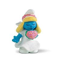 Boneco Alemao Schleich 20412 Smurfs Smurfette Noiva Desenho