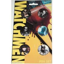 Watchmen Filme Movie Pin Set Conjunto De 6 Bótons Originais
