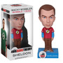 Big Bang Theory Sheldon Boneco Wacky Wobbler Funko 15cms