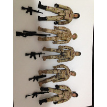 G.i. Joe: Lote 6 Soldados Us Army Afeganistão