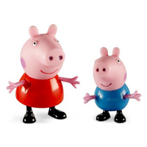 Peppa Pig E Seus Amigos - Peppa E George - Estrela