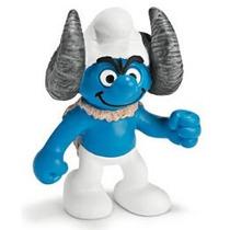 Aries Smurf - Miniatura Imp. Schleich - Smurfs - Nova!