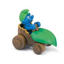 Boneco Alemao Schleich 40264 Smurfs No Carro Filme Desenho