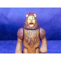Boneco Antigo Leão Do Filme O Mágico De Oz Miniatura