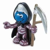 Grim Reaper Smurf - Miniatura Imp. Schleich - Smurfs - Nova!