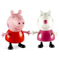 Boneca Peppa Pig & Suzy Estrela Discovery Kids